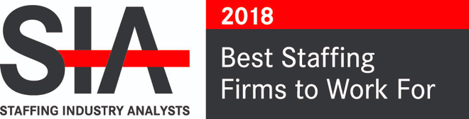 Aya Healthcare won the Staffing Industry Analysts 'Best Staffing Firms to Work For' award in 2018.